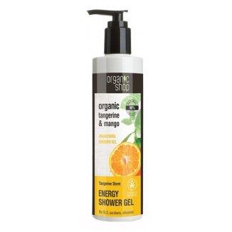 ORGANIC SHOP, żel pod prysznic, mandarynka, 280 ml - zdjęcie produktu