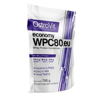 OstroVit Economy WPC80.eu, smak ciastka z kremem, 700 g - zdjęcie produktu