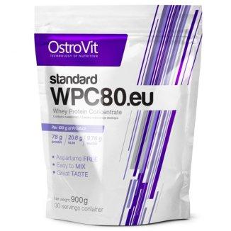 OstroVit, WPC80, Whey Protein Concentrate, smak biscuit dream, 900 g - zdjęcie produktu