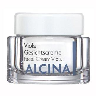 Alcina Viola, łagodzący krem do twarzy, 50 ml - zdjęcie produktu