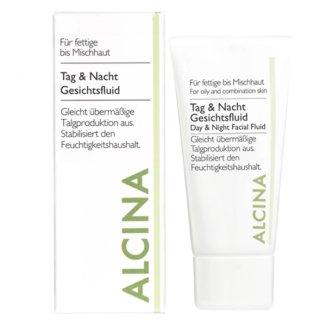 Alcina, fluid do twarzy na dzień i na noc, 50 ml - zdjęcie produktu
