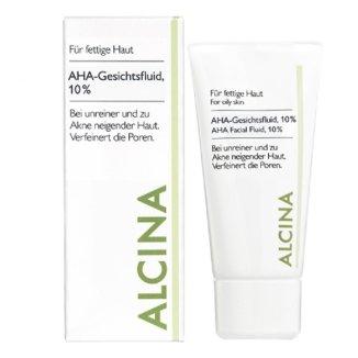 Alcina, AHA 10%, fluid przeciwzmarszczkowy, 50 ml - zdjęcie produktu