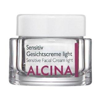 Alcina, Sensitiv light, krem do twarzy, 50 ml - zdjęcie produktu