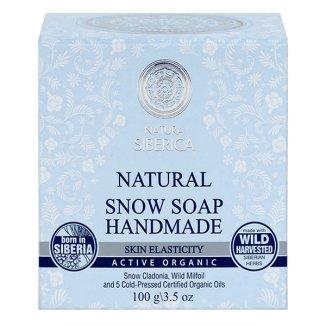 Natura Siberica, mydło śnieżne do zwiększenia elastyczności skóry, 100 g - zdjęcie produktu
