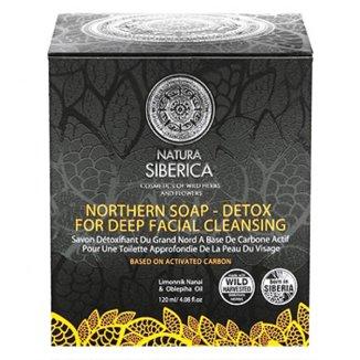 Natura Siberica, mydło detoks do twarzy, 120 g - zdjęcie produktu