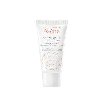 Avene Antirougeurs Calm, maseczka kojąca, skóra wrażliwa, naczynkowa, skłonna do zaczerwienień, 50 ml - zdjęcie produktu