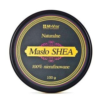 MyVita, naturalne masło shea 100% nierafinowane, 100 g - zdjęcie produktu