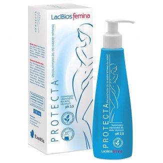 Lacibios Femina Protecta, specjalistyczny żel do higieny intymnej, 150 ml - zdjęcie produktu