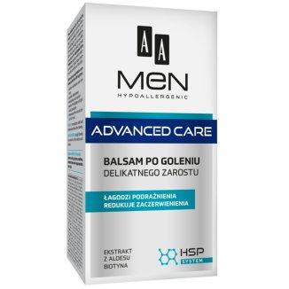 AA Men Advanced Care, balsam po goleniu do delikatnego zarostu, 100 ml - zdjęcie produktu