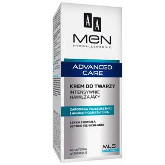 AA Men Advanced Care, krem intensywnie nawilżający do twarzy, 75 ml - zdjęcie produktu