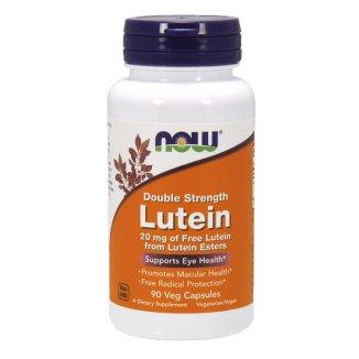 Now Foods, Lutein 20 mg, 90 kapsułek wegetariańskich - zdjęcie produktu