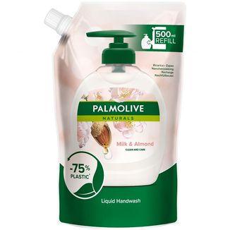 Palmolive, mydło w płynie, mleczko migdałowe, zapas, 500 ml - zdjęcie produktu