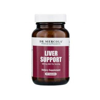 Dr. Mercola Liver Support, 60 kapsułek - zdjęcie produktu