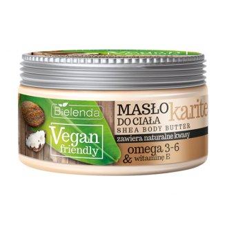 Bielenda Vegan Friendly, masło do ciała, karite, 250 ml - zdjęcie produktu