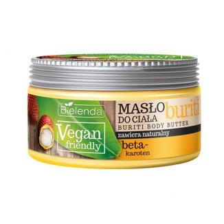 Bielenda Vegan Friendly, masło do ciała, buriti, 250 ml - zdjęcie produktu