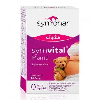 Symvital Mama, 60 kapsułek - zdjęcie produktu