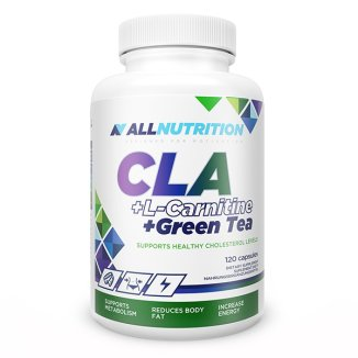 Allnutrition CLA + L-Carnitine + Green Tea, 120 kapsułek - zdjęcie produktu