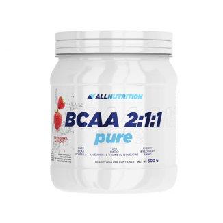 Allnutrition BCAA 2:1:1, aminokwasy, truskawka, 500 g - zdjęcie produktu