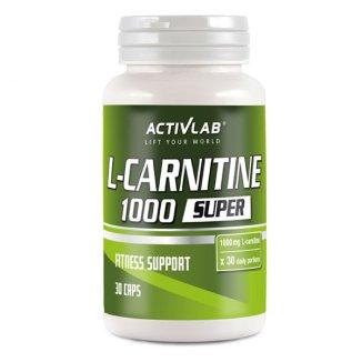 ActivLab L-Carnitine 1000, 30 kapsułek - zdjęcie produktu