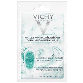 Vichy, nawilżająca maska mineralna, 6 ml x 2 saszetki - zdjęcie produktu