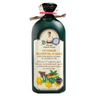 Babuszka Agafia, szampon ziołowy przeciw wypadaniu i łamliwości włosów, 350 ml - zdjęcie produktu