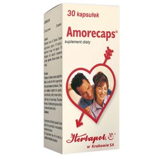 Amorecaps, 30 kapsułek - zdjęcie produktu
