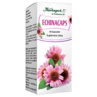 Herbapol Echinacaps, 30 kapsułek - zdjęcie produktu