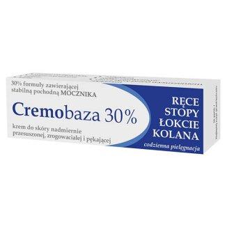Cremobaza 30%, krem zmiękczający, skóra nadmiernie przesuszona, zrogowaciała i pękająca, 30 g - zdjęcie produktu