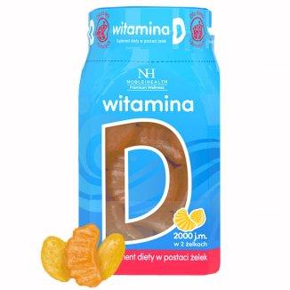 Noble Health Witamina D, żelki, 180 g - zdjęcie produktu