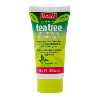 Beauty Formulas Tea tree, punktowa kuracja na pryszcze, 30 ml - zdjęcie produktu