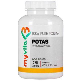 MyVita, Potas, cytrynian potasu, 250 g - zdjęcie produktu