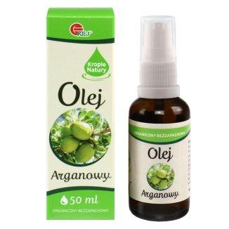 Olej arganowy, organiczny, bezzapachowy, 50 ml - zdjęcie produktu