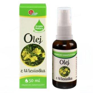 Olej z wiesiołka, organiczny, 50 ml - zdjęcie produktu