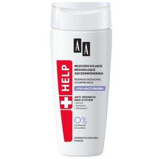 AA Help, mleczko kojące redukujące zaczerwienienia, 200 ml - zdjęcie produktu