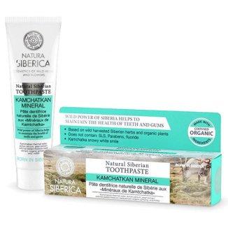 Natura Siberica Minerały Kamczatki, naturalna pasta do zębów bez fluoru, 100 g - zdjęcie produktu