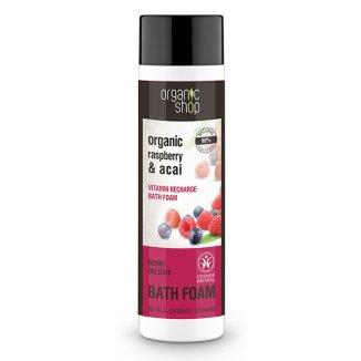 ORGANIC SHOP, płyn do kąpieli witaminowa bomba, jagoda, 500 ml - zdjęcie produktu