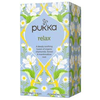Pukka, herbata Relax BIO, 20 saszetek - zdjęcie produktu