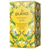 Pukka, Turmeric Gold, BIO, herbata z korzeniem kurkumy i olejkiem cytrynowym, 20 saszetek - miniaturka zdjęcia produktu
