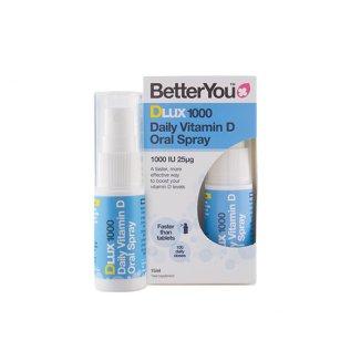 Better You Dlux 1000, witamina D w sprayu, 15 ml - zdjęcie produktu