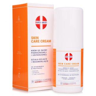 Beta-Skin Skin Care Cream, krem do skóry podrażnionej i uszkodzonej, 75 ml - zdjęcie produktu