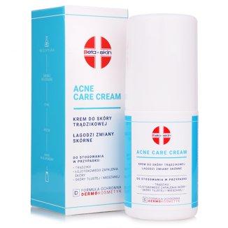 Beta-Skin Acne Care Cream, krem do skóry trądzikowej, 75 ml - zdjęcie produktu