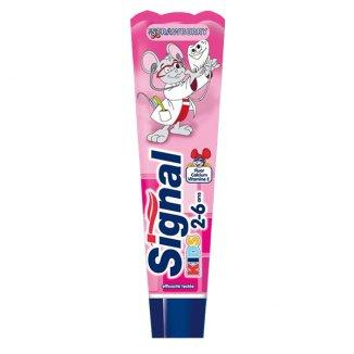 Signal Kids, pasta do zębów dla dzieci, 2-6 lat, smak truskawkowy, 50 ml - zdjęcie produktu
