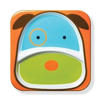 Skip Hop, talerz Zoo Pies, od 6 miesiąca, nr 252151, 1 sztuka - zdjęcie produktu
