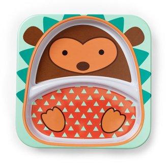 Skip Hop, talerz Zoo Jeż, od 6 miesiąca, nr 252167, 1 sztuka - zdjęcie produktu
