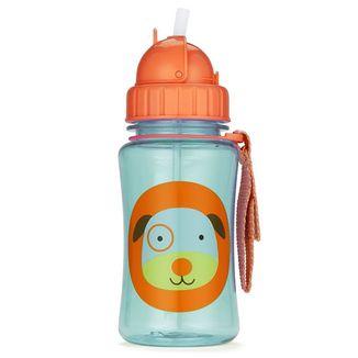 Skip Hop, bidon ze słomką, Zoo Pies, 252301, od 12 miesiąca, 350 ml - zdjęcie produktu