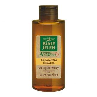 Biały Jeleń Apteka Alergika, aksamitna kuracja do mycia twarzy, 150 ml - zdjęcie produktu