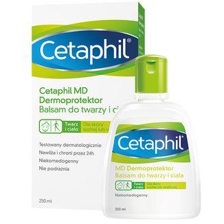 Cetaphil MD Dermoprotektor, balsam nawilżający do twarzy i ciała, skóra sucha i wrażliwa, 250 ml - zdjęcie produktu