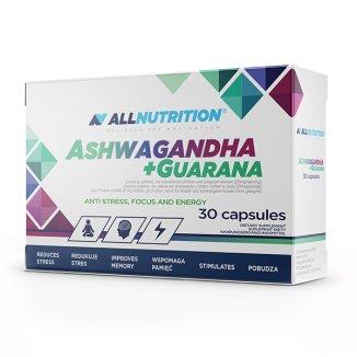 Allnutrition Ashwagandha + Guarana, 30 kapsułek - zdjęcie produktu