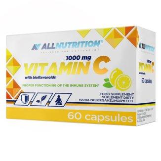 Allnutrition Vitamin C 1000 mg with bioflavonoids, 60 kapsułek - zdjęcie produktu