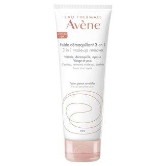 Avene, fluid do demakijażu 3w1, wrażliwa skóra twarzy, 200 ml - zdjęcie produktu